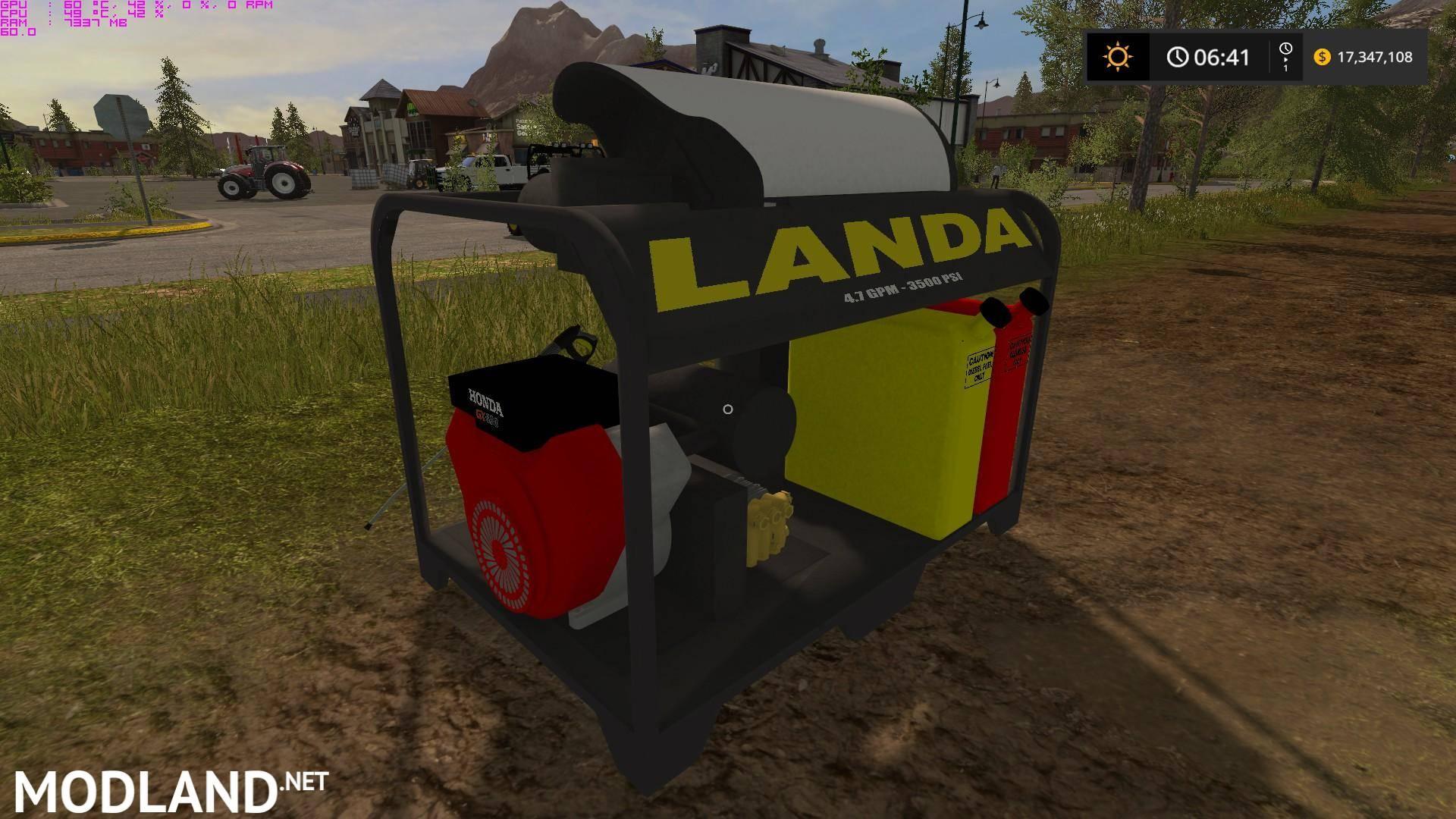 Landa Placeable Pressure Washer V 1 0 Mod Farming Simulator 17