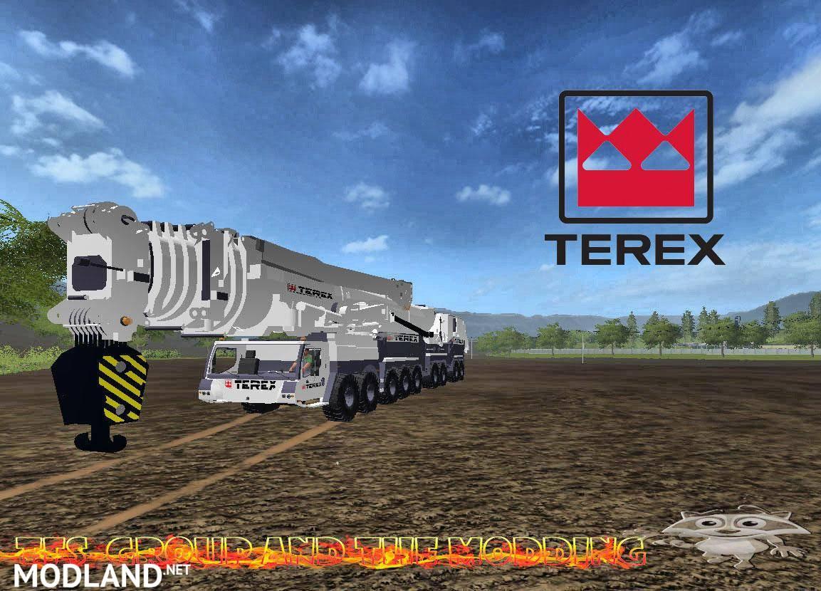 Liebherr Ltm11200 Terex Final Version Mod Farming Simulator 17