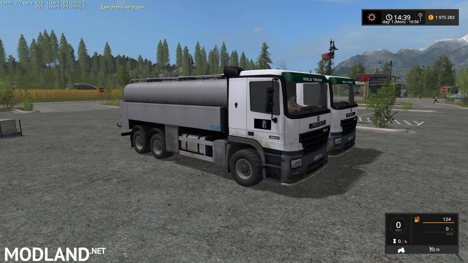 Lizard Rolo 3843 v 1.0 mod Farming Simulator 17