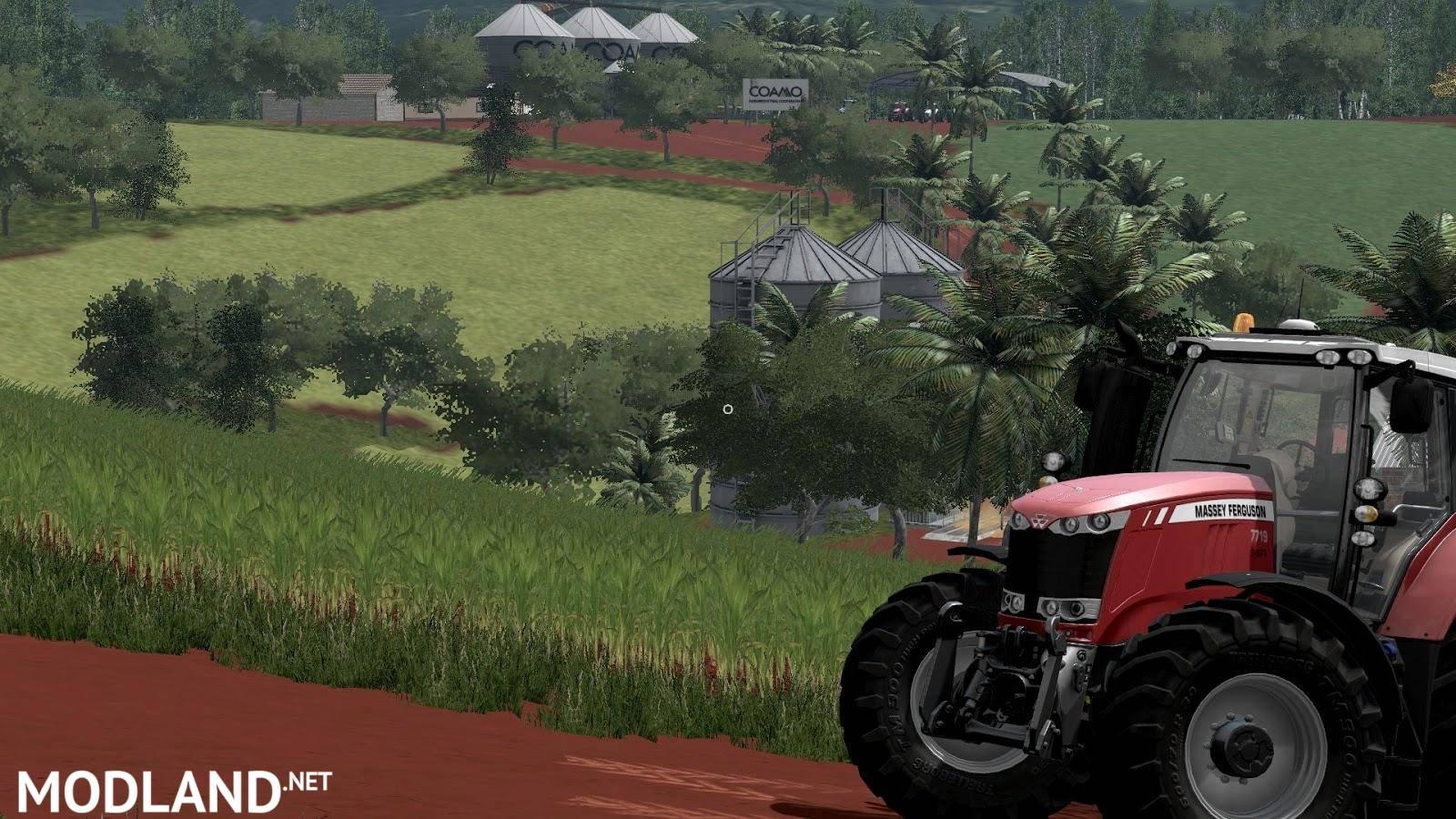 Canadian Map Farming Simulator 2015%0A Baixa Verde Platinum Edition Map v