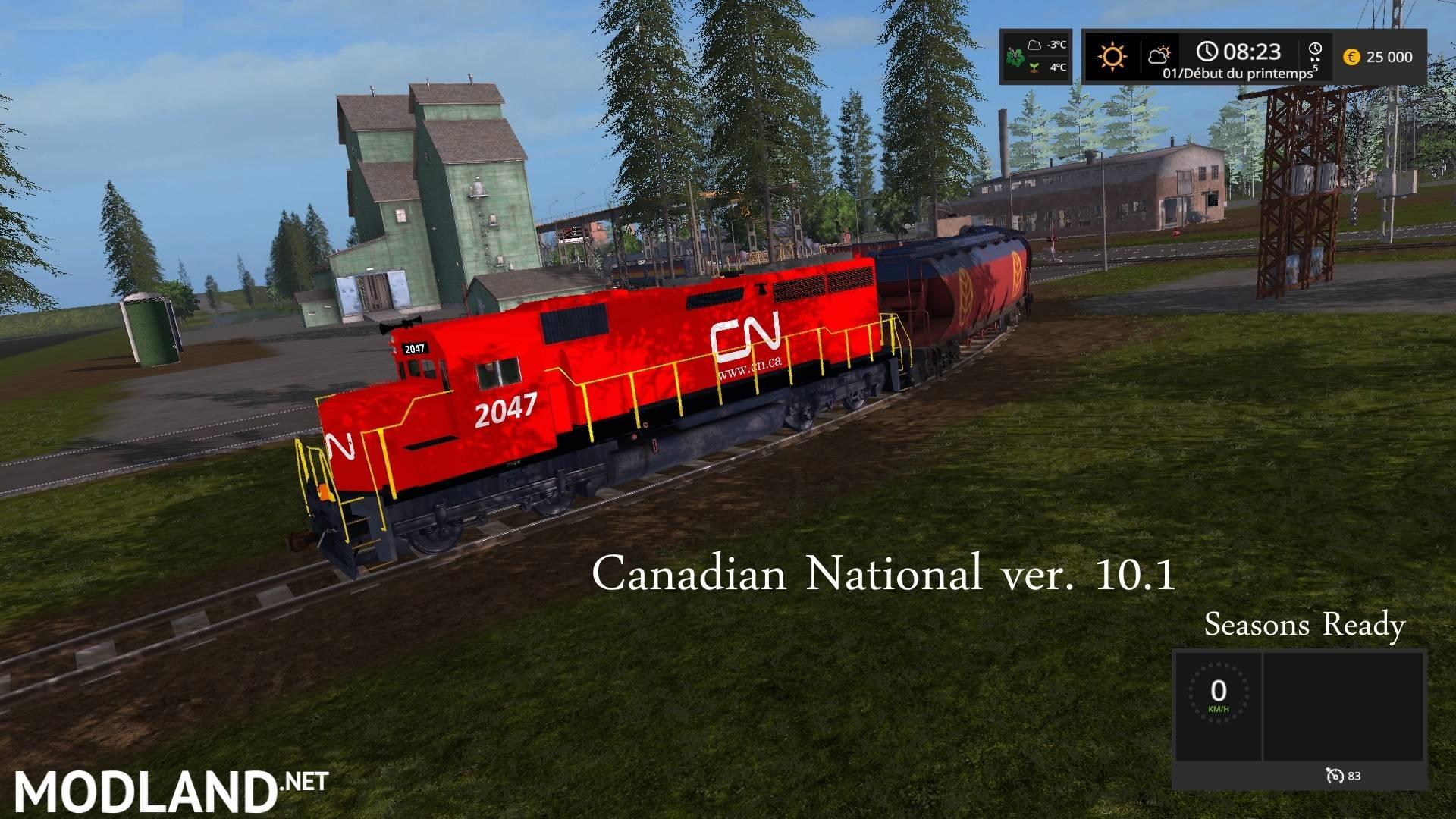 Canadian National 101 seasons Canadian National