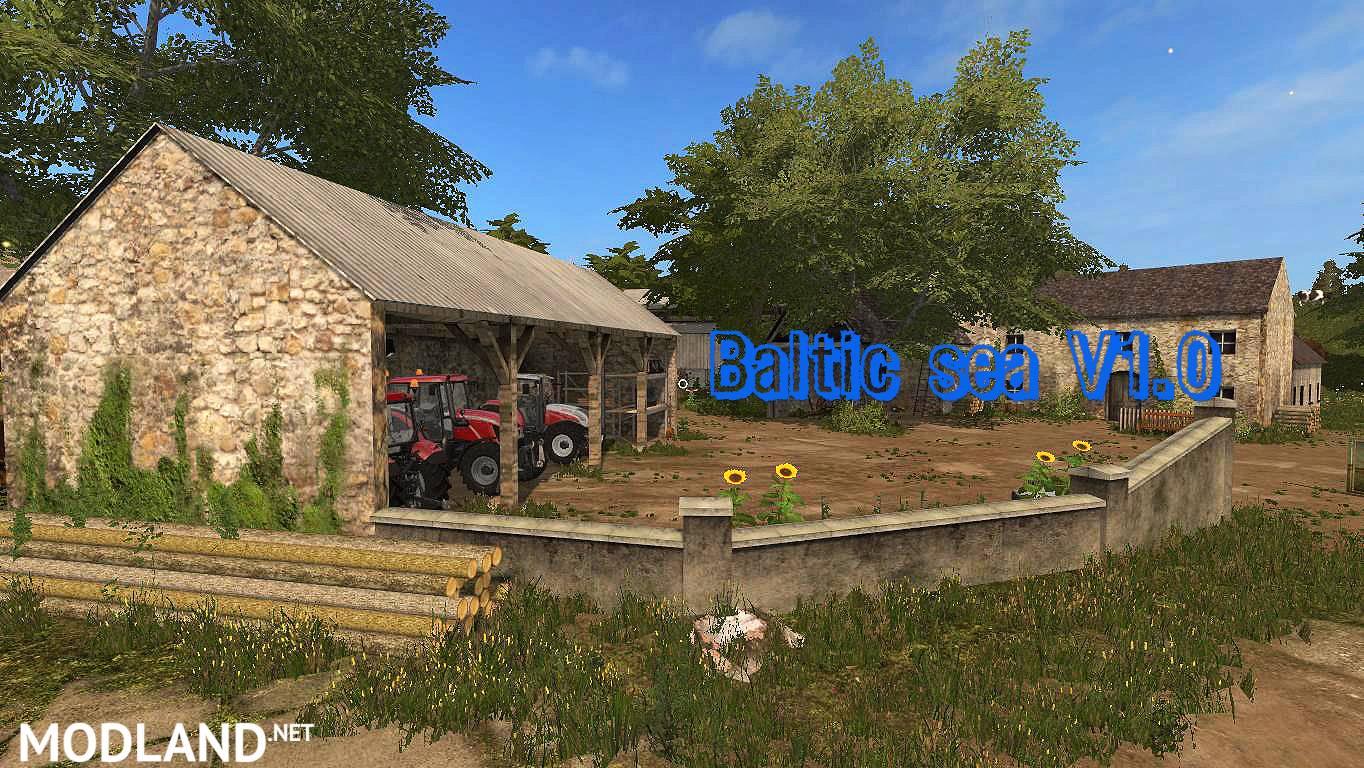 Baltic Sea Map v 1.0 mod Farming Simulator 17