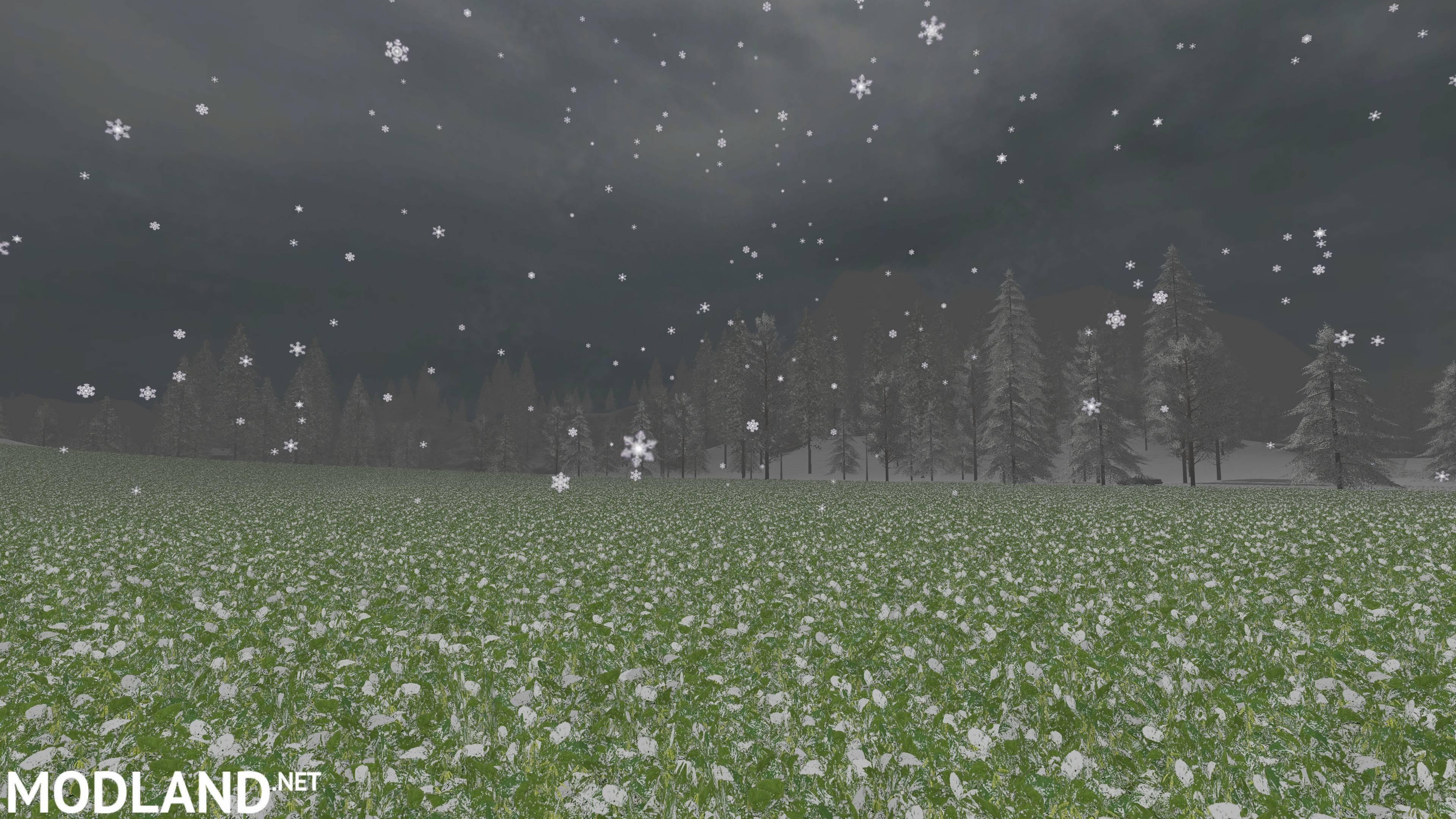 FS17 Sosnovka Snow Edition Map v 1 0 mod Farming Simulator 17