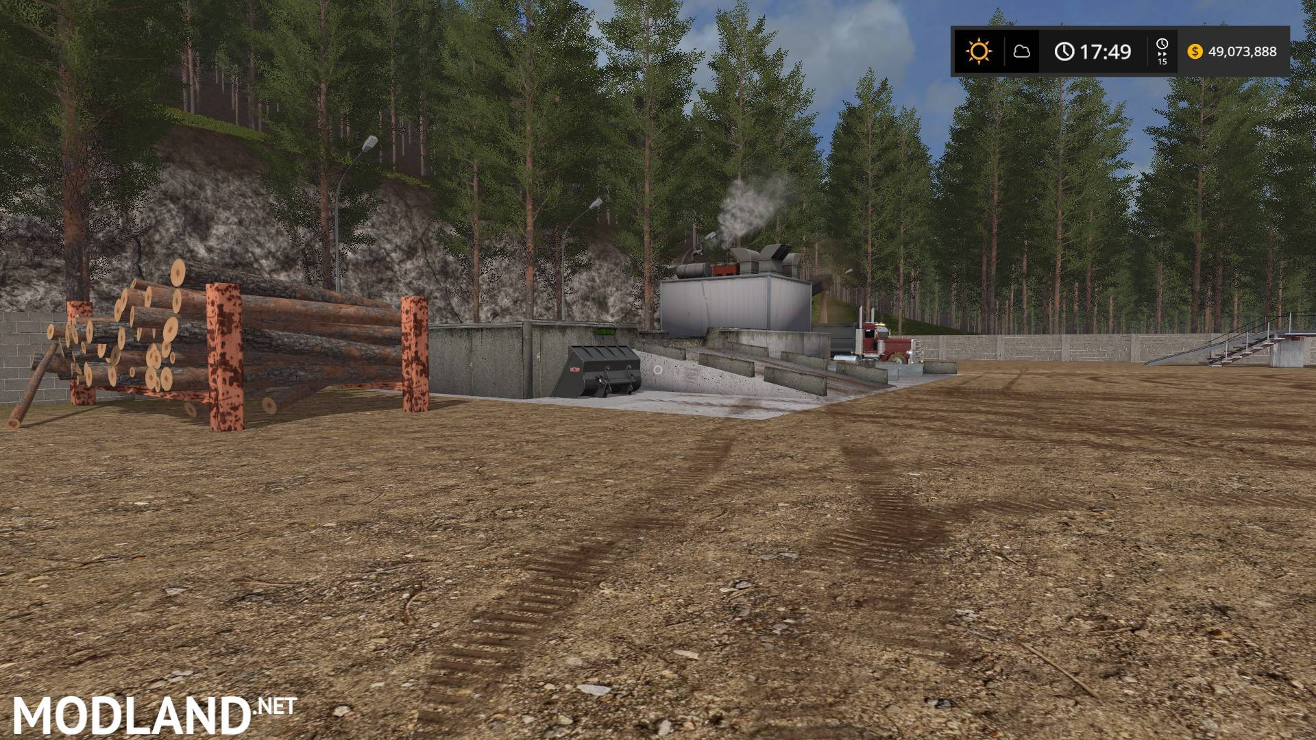 4X) Appalachian Mountain Logging Map v 2 0 1 mod Farming Simulator 17
