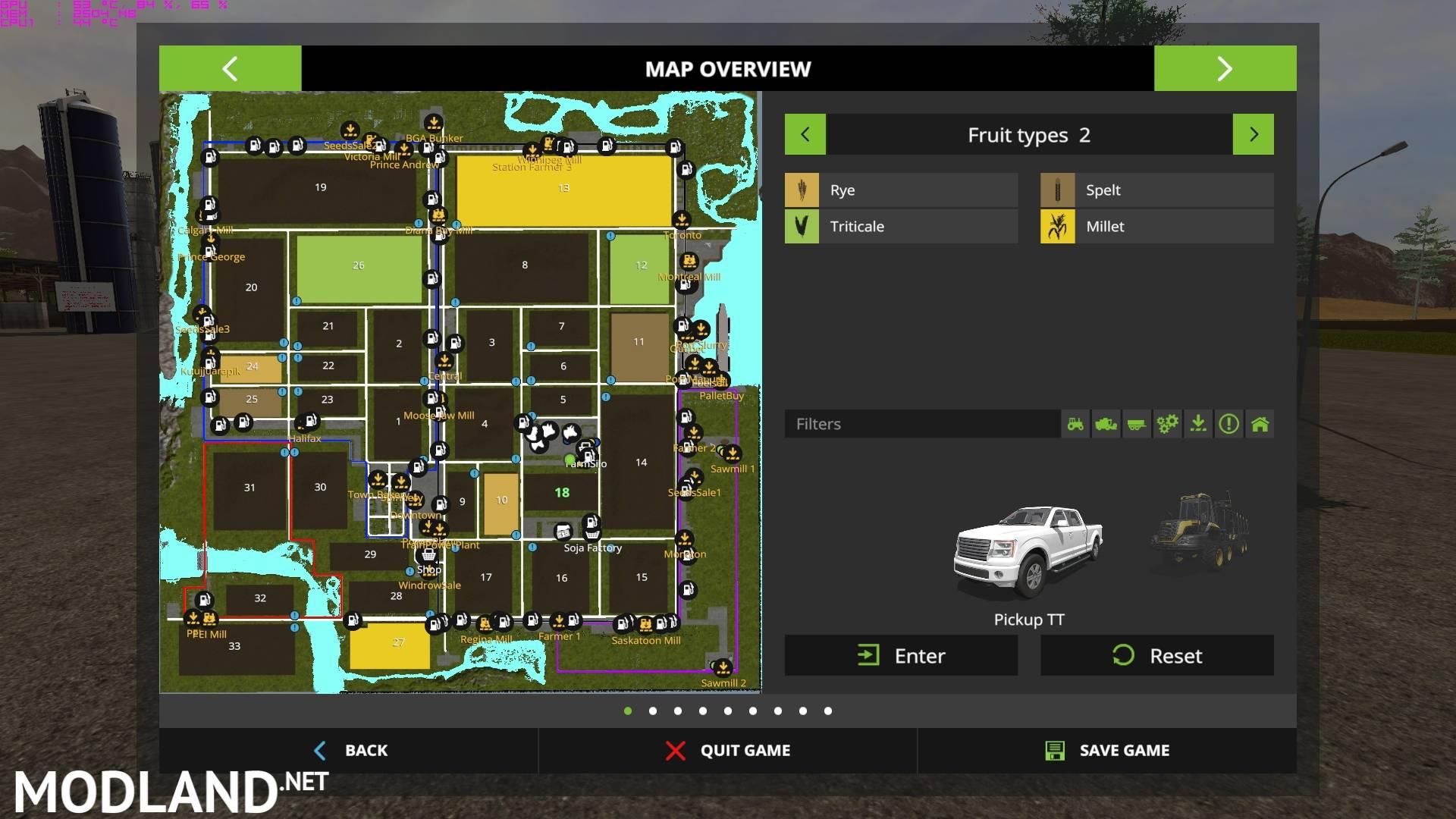 Canadian Ultimate V4 mod Farming Simulator 17