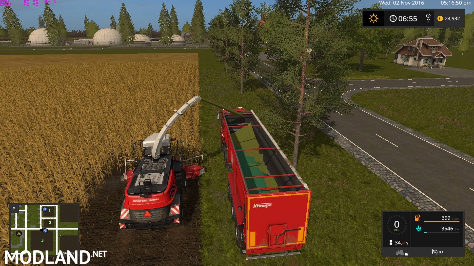 FS 17 Canadian National Map 17 Canadian