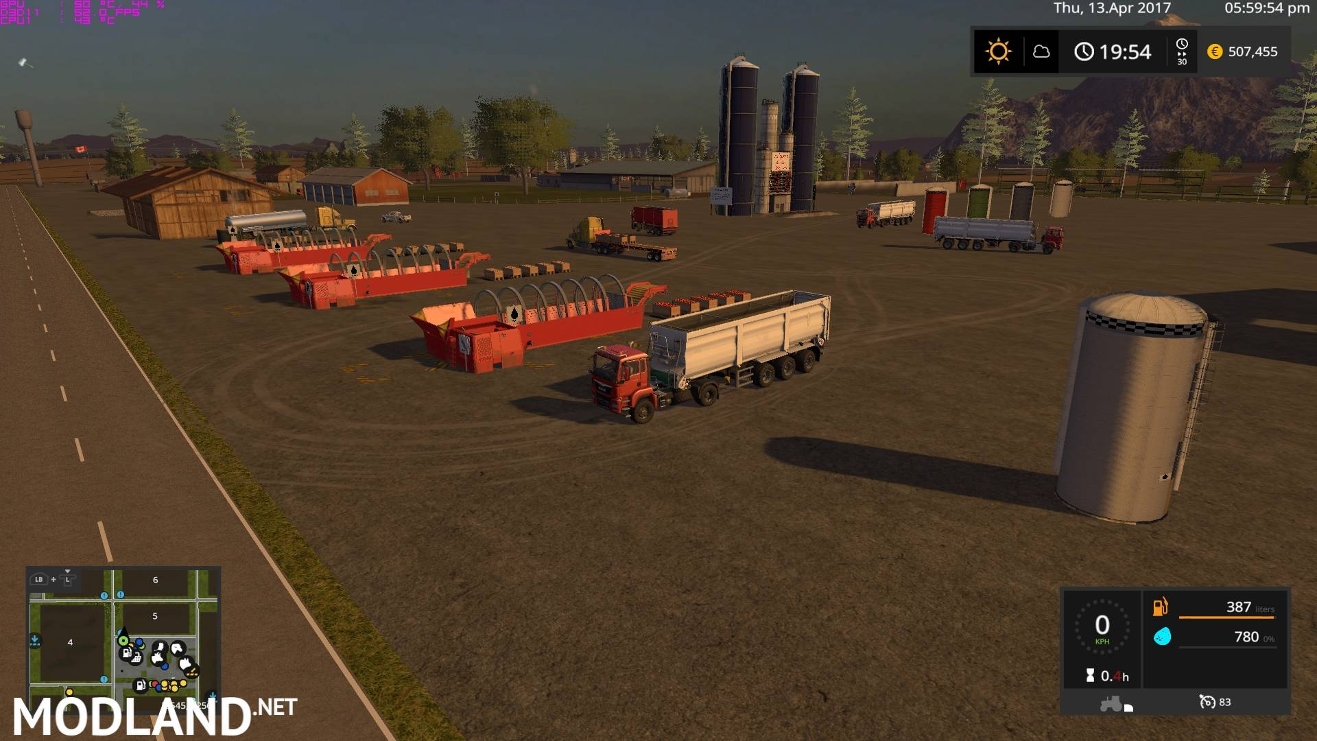 Canadian Map Fs17%0A     Canadian Ultimate    MF Fixed