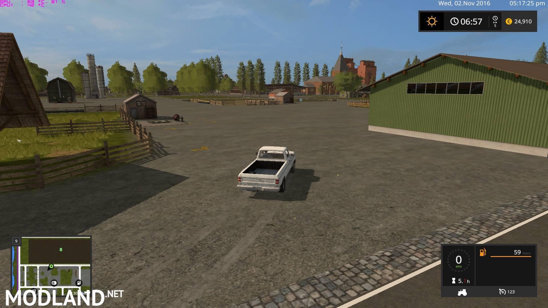 FS 17 Canadian National Map mod Farming Simulator 17