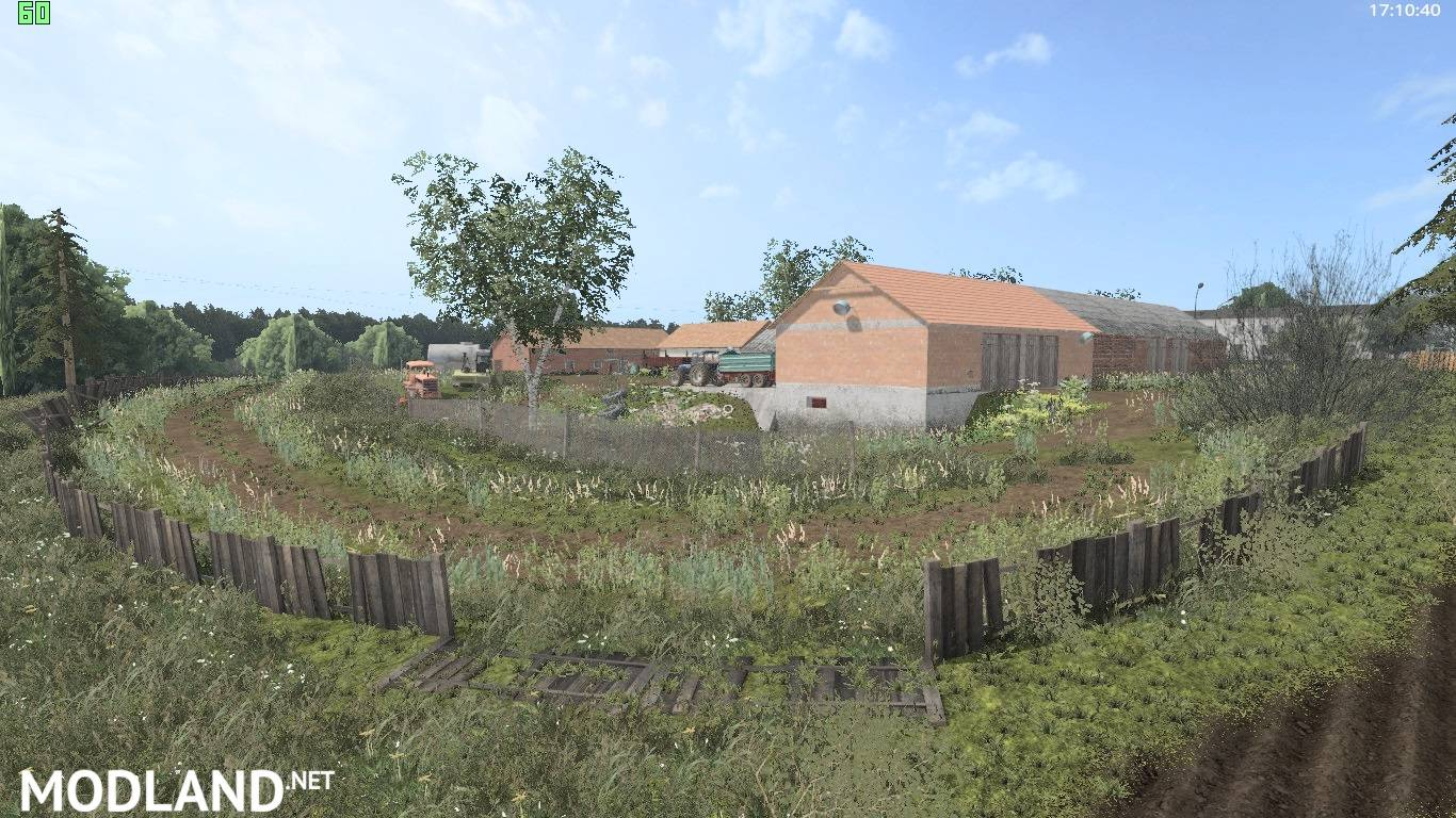 deep village map mod farming simulator 17. Black Bedroom Furniture Sets. Home Design Ideas