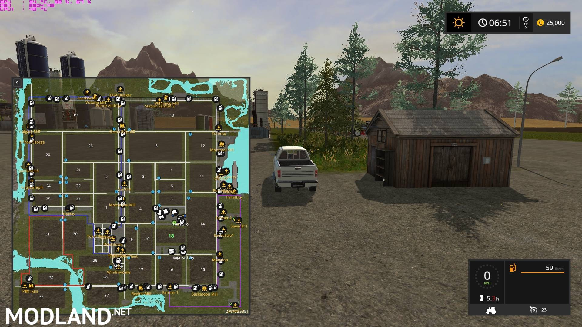 Canadian Map Fs17%0A     Canadian Ultimate V