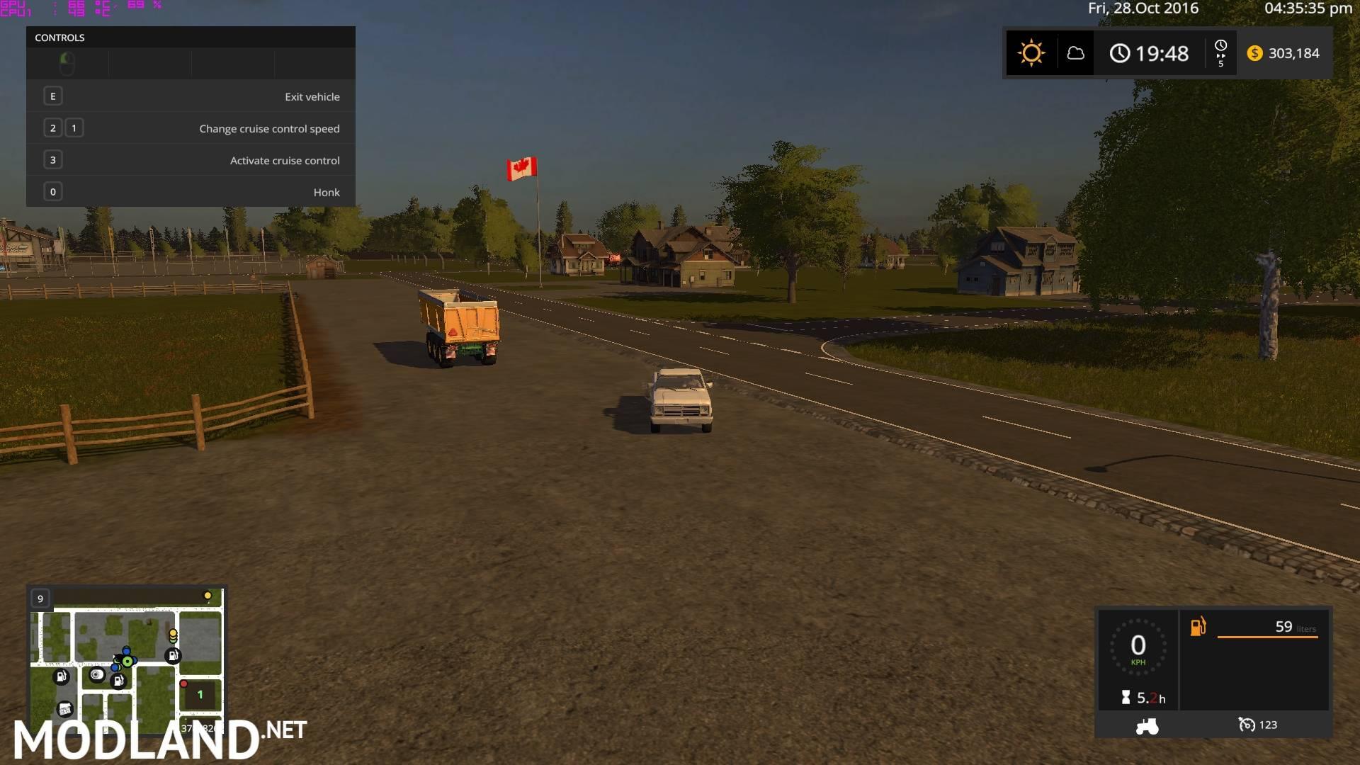 LS 17 Plain Simple Map mod Farming Simulator 17