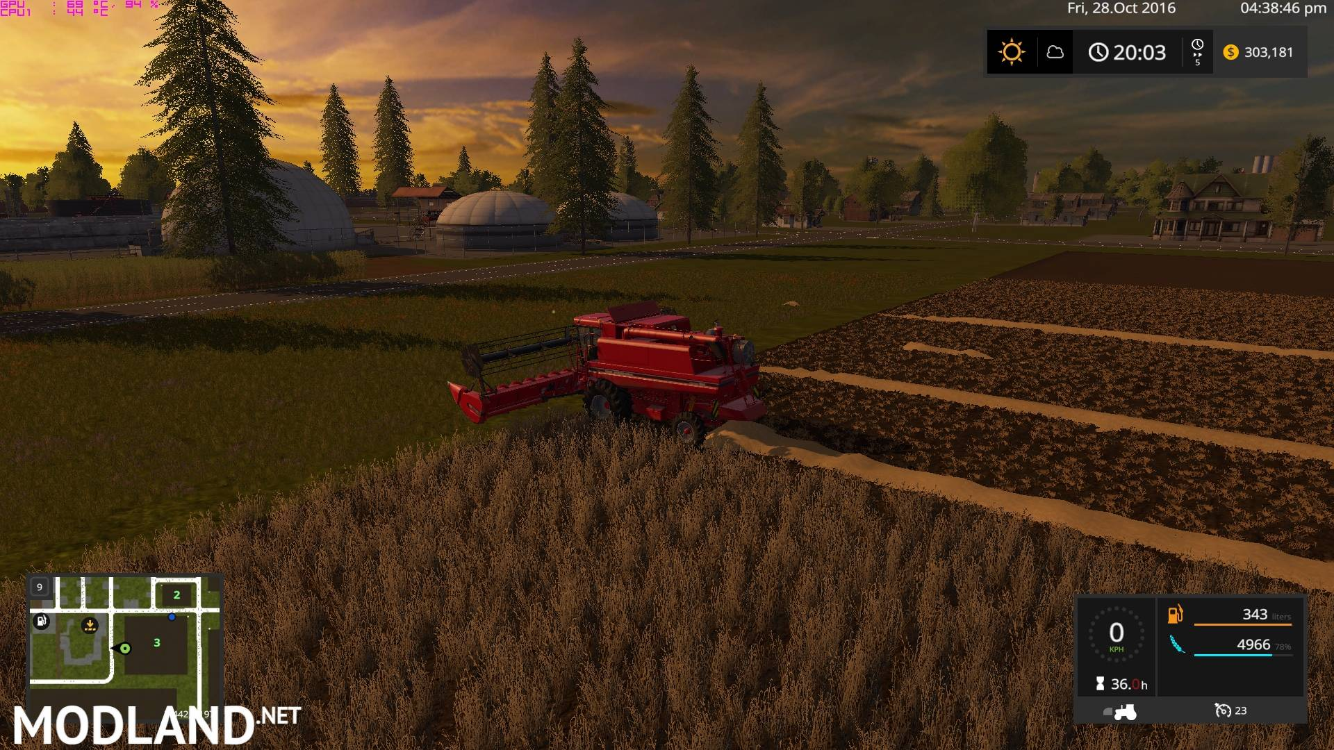 LS 17 Plain Simple Map mod Farming Simulator 17