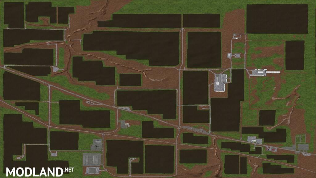 North West Texas 4x Mod Farming Simulator 17