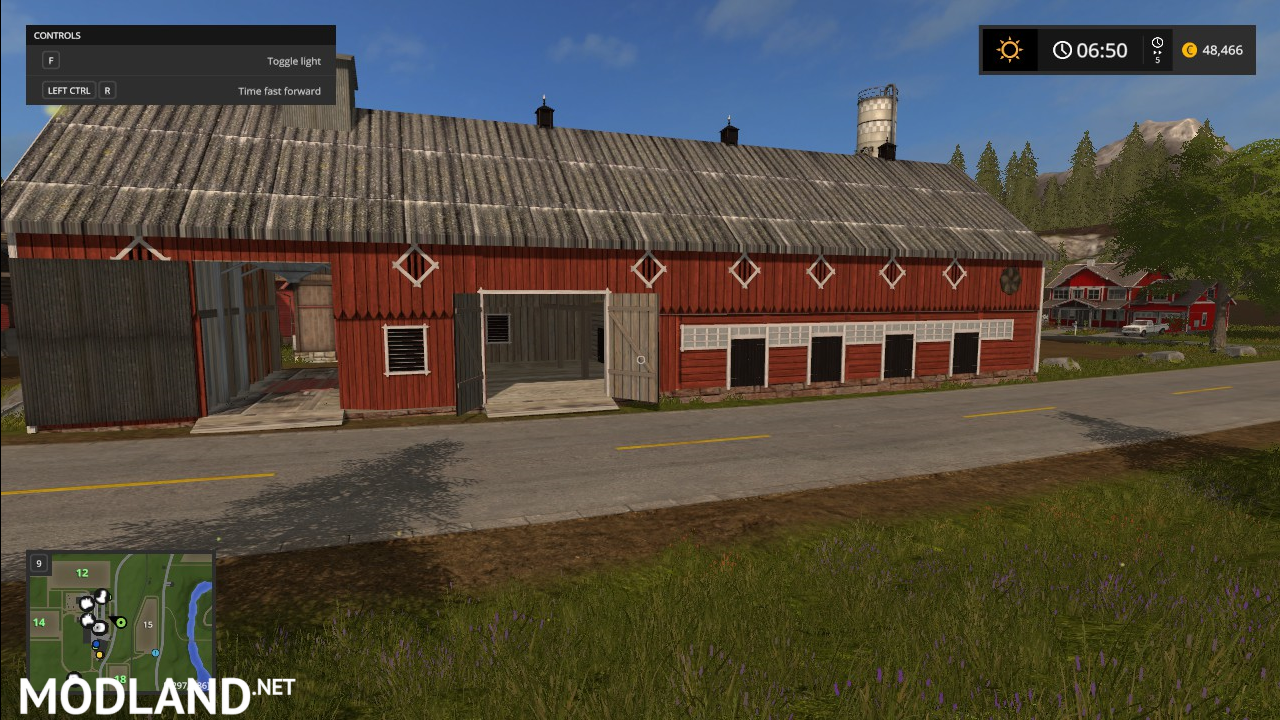 Smal Town Norway Lom Mod Farming Simulator - Norway map farming simulator 2015