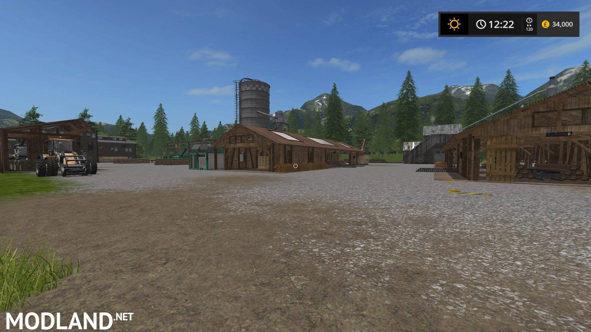 CHERRY HILLS SEASONS 4X MAP UPDATE mod Farming Simulator 17