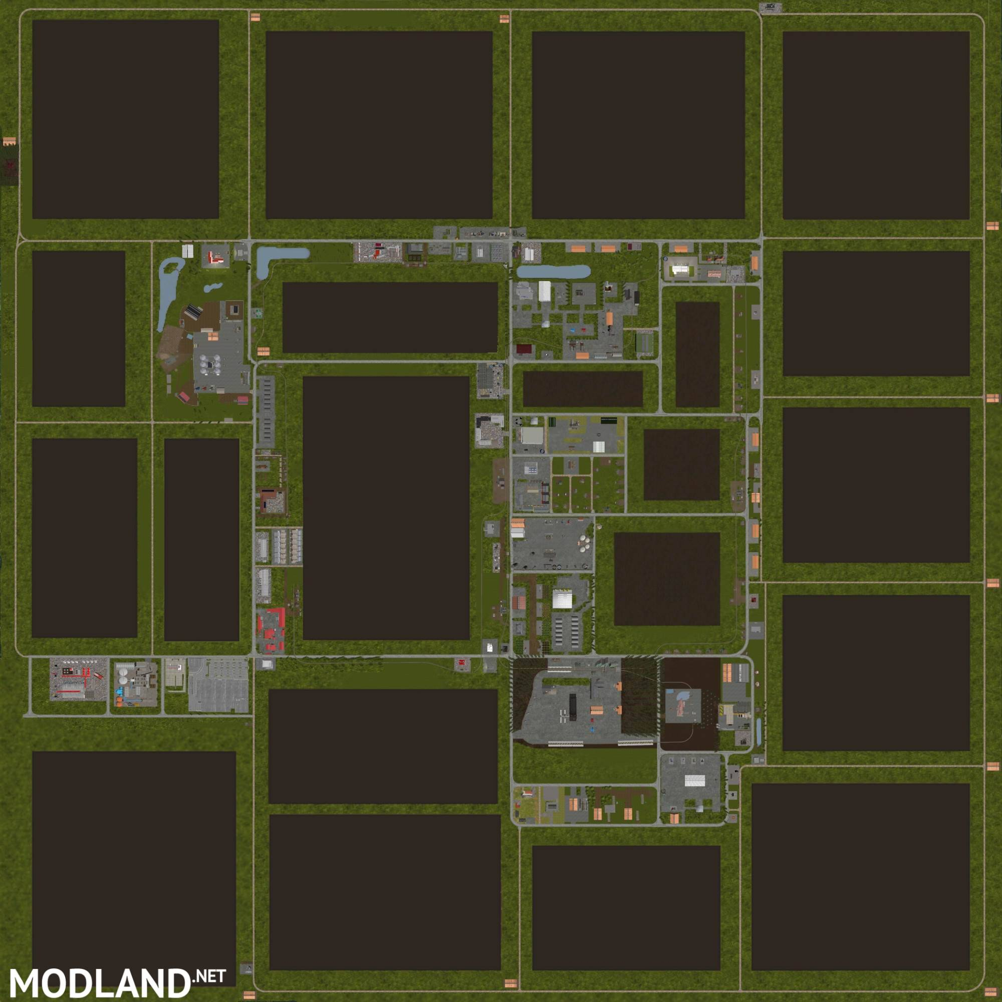 Factory Map Fs17 - 0425