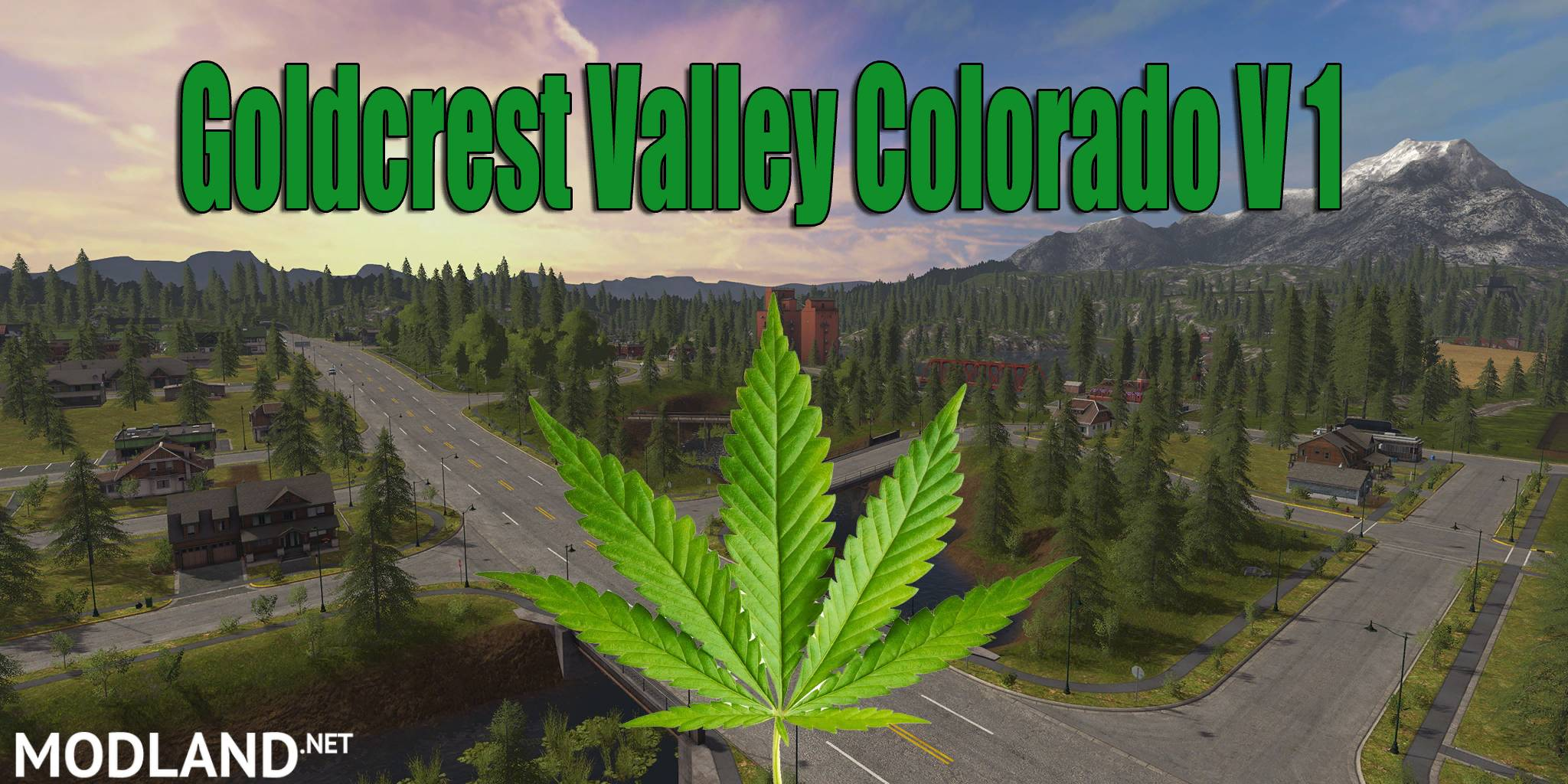 Big Valley Ford >> GoldCrest Valley Colorado V1 mod Farming Simulator 17