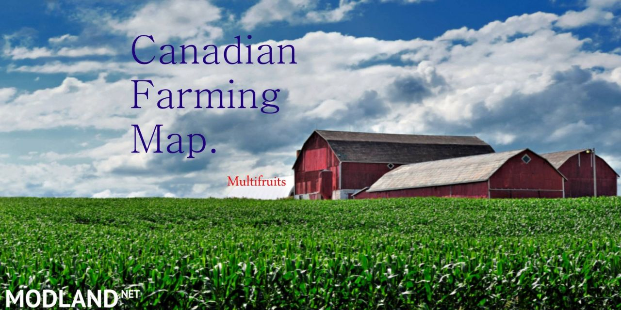 Canadian Farming Map (preview)