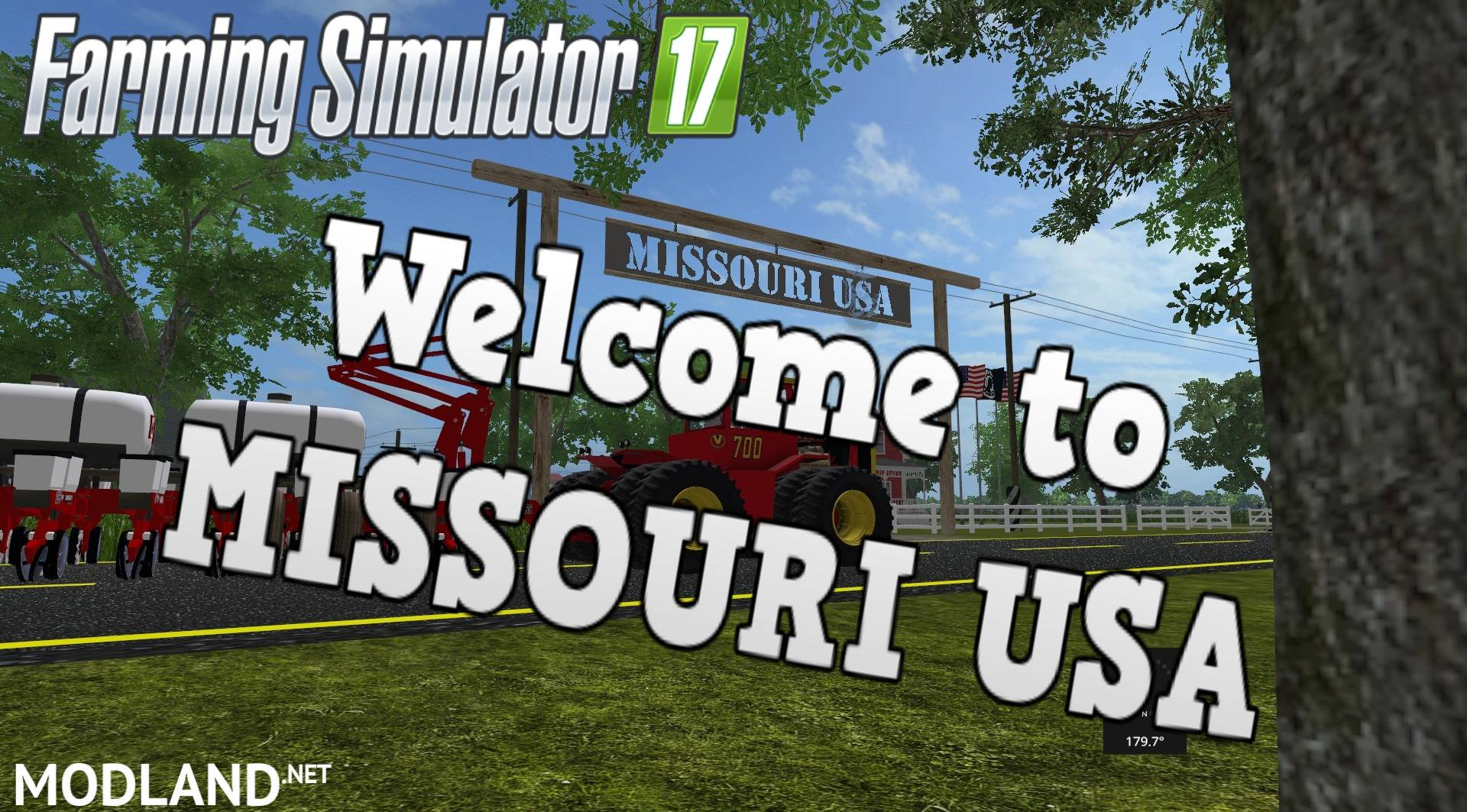 FS Missouri Map Mod Farming Simulator - Missouri in usa map