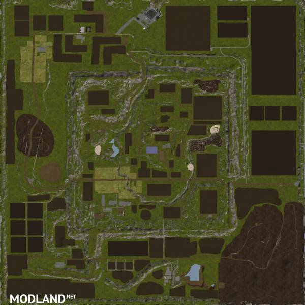 Norway Map V Mod Farming Simulator - Norway map farming simulator 2013