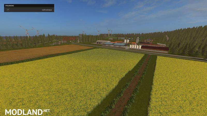POPPENDORFER FORST V5 0 MULTIFRUIT, CHOPPED STRAW mod Farming