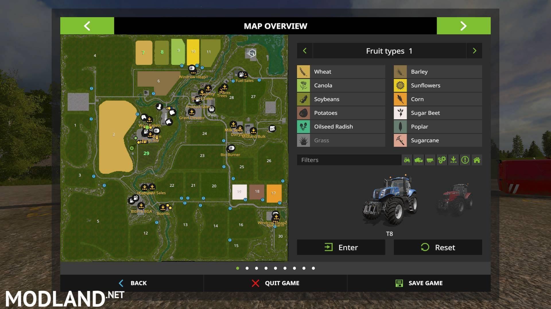 GOLDCREST VALLEY MULTIFRUIT v 1 0 0 1 mod Farming Simulator 17