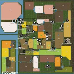 NORTH FRISIAN MARCH 4-FOLD MAP v 1.4 WITHOUT TRENCHES, 6 photo