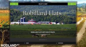 Robillard Flats Farm Map