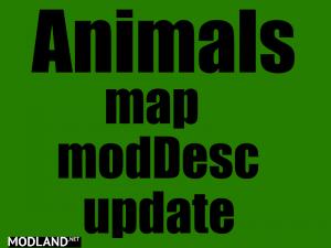 Animals map update, 1 photo