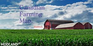 Canadian Farming Map (preview), 1 photo