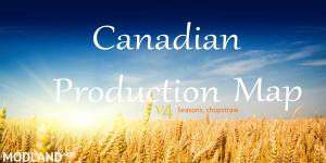 Canadian Production Map 4.5 Seasons, chopstraw, 1 photo