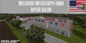MISSOURI MISSISSIPPI OHIO RIVER BASIN FINAL Map v 5.0, 1 photo