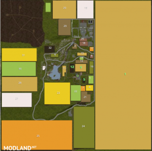 Greatfields 600Ha FIELD AND HUGE FOREST! Perfect for Big Bud DLC, 1 photo