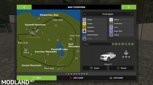 Pondcliff Logging Map, 2 photo