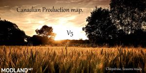 Canadian Production map V5, 1 photo