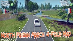 NORTH FRISIAN MARCH 4-FOLD MAP v 1.4 WITHOUT TRENCHES, 4 photo
