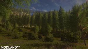 Pondcliff Logging Map, 1 photo