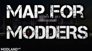 FS17 Map for Modders