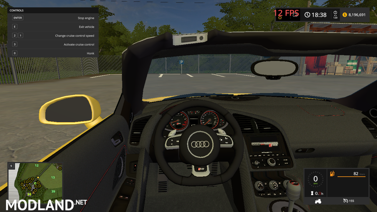 Audi R8 V10 SPIDER (revamped_version)