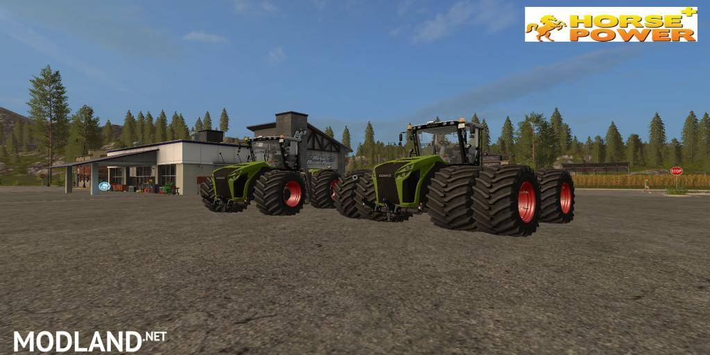 Claas Xerion 5000 Horse Power