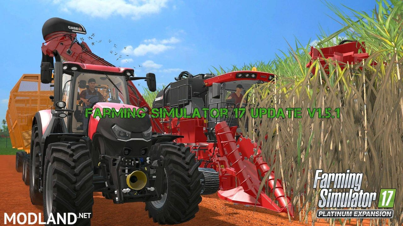 Farming Simulator 2017 Update 1.5.1