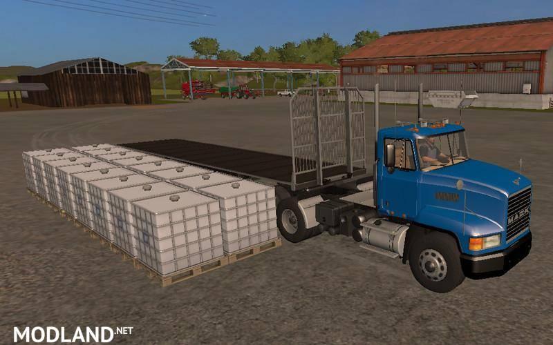 Fliegl Universal Semitrailer UAL