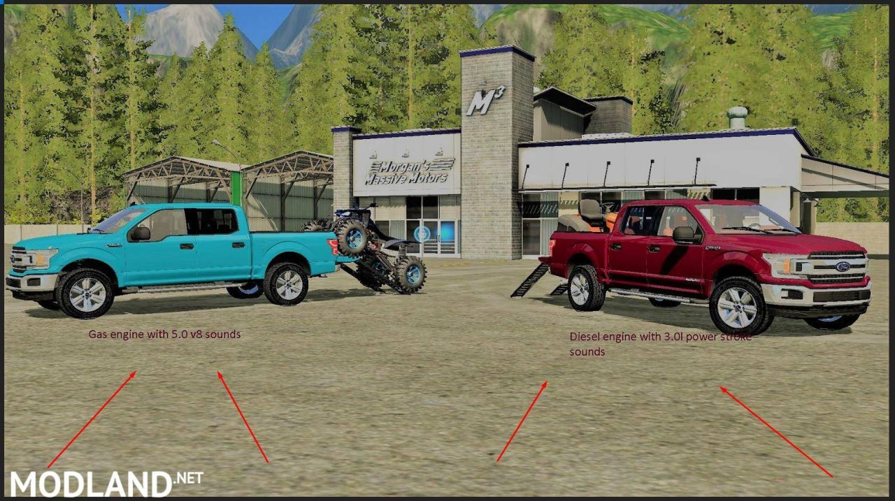 Ford F150 2018 Ramps