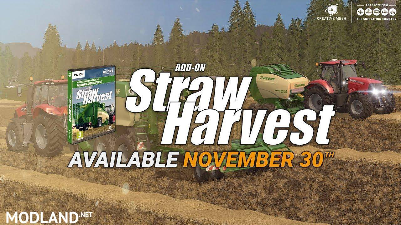 Add-On Straw Harvest