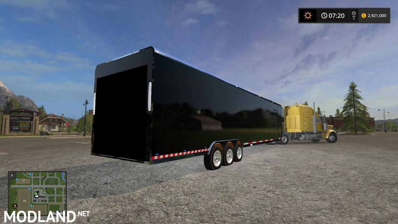 Car box trailer