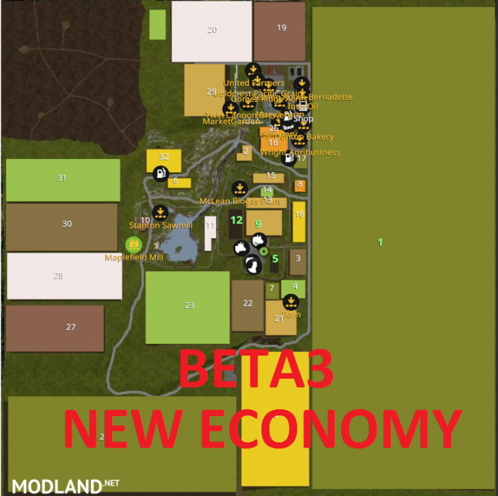 BETA3 (NEW ECONOMY) GREATFIELDS 600Ha FIELD AND HUGE FOREST (BIG BUD FRIENDLY)
