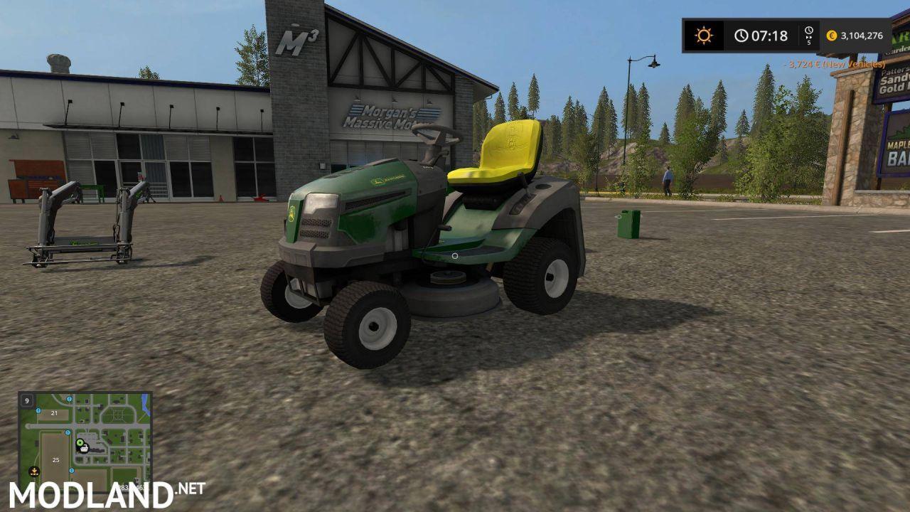 JD Tractor Pack (Rasenmaher)