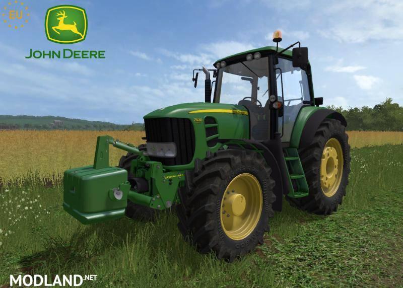 John Deere 7030 E Premium Series + weight