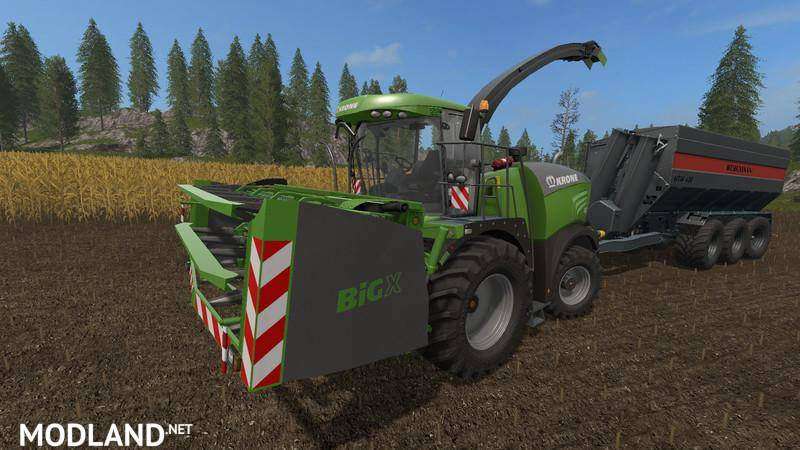 Krone Big X Cutters as special edition