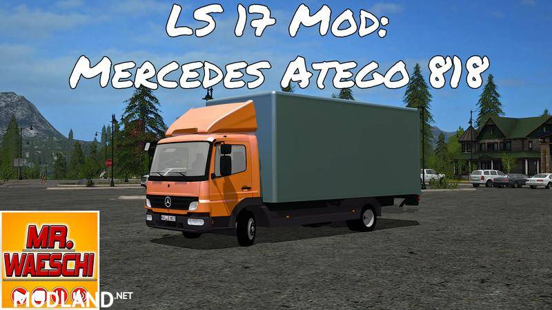Mercedes Benz Atego 818 with accessories